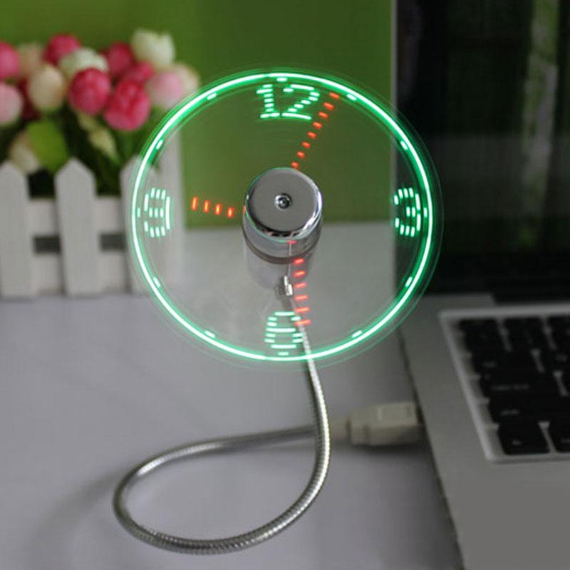 usb-часы-вентилятор