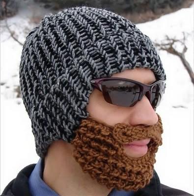 шапки с бородой