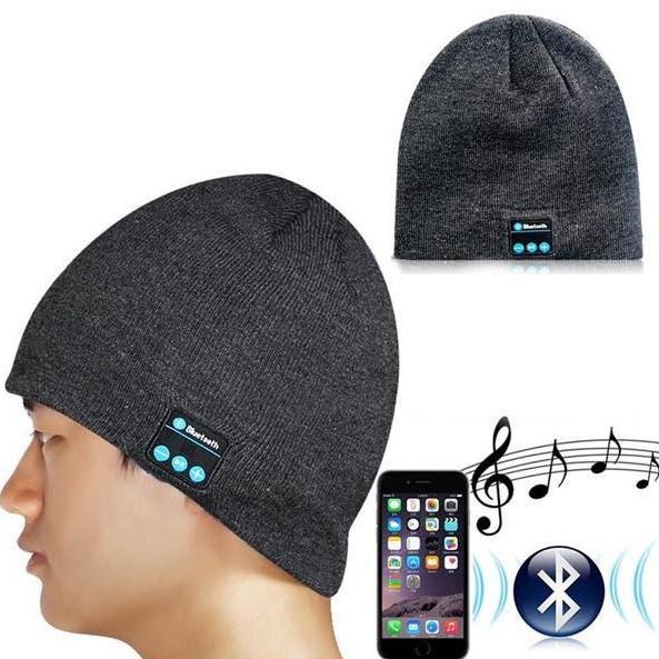 шапка-bluetooth