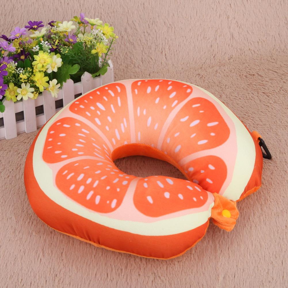 Подушки в виде фруктов