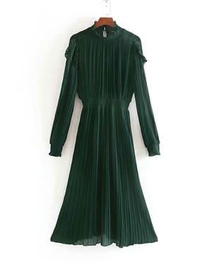 платье с плиссировкой зара на алиэкспресс
