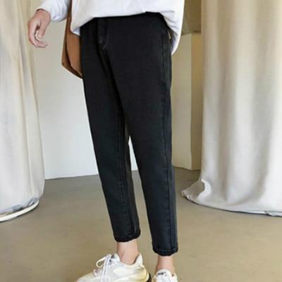 мужские слим фит джинсы