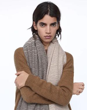 шарф зара
